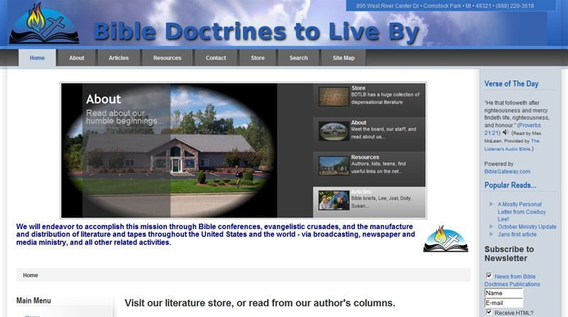 Bible Doctrines to Live By
