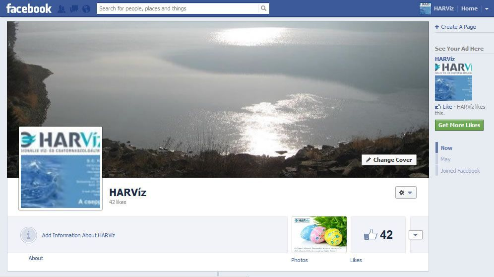 HarViz - Facebook