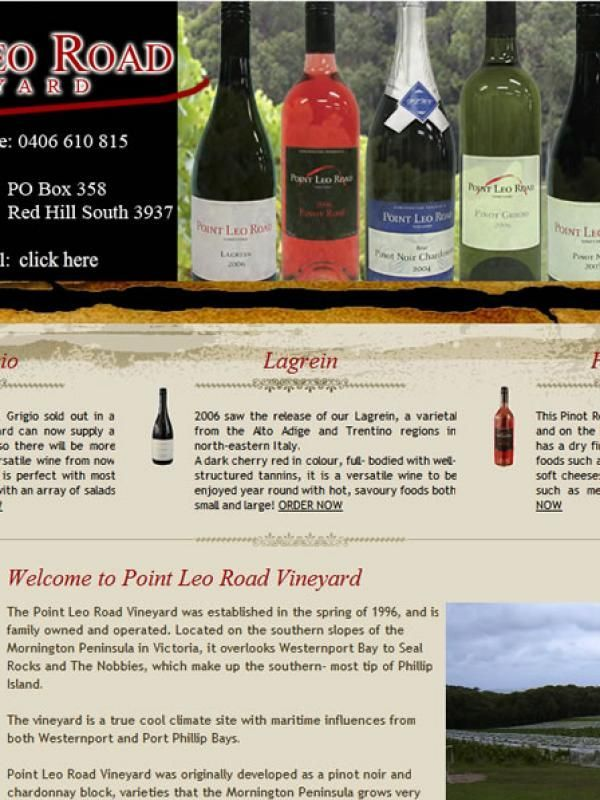 Point Le Road Vineyard